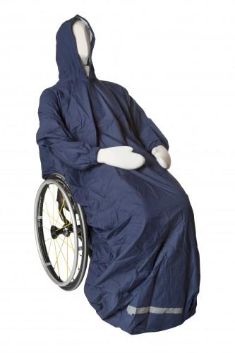 Regnslag til kørestol